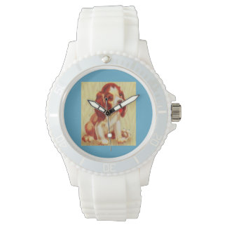 Reloj De Pulsera pequeño perrito lindo del beagle