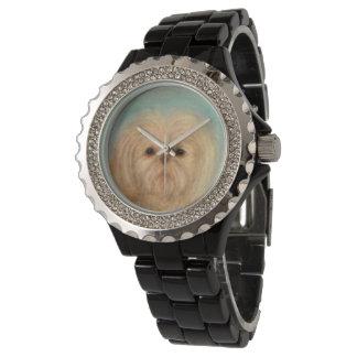 Reloj De Pulsera perrito, perro, perritos, tzu de shih, animal,