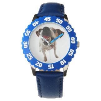 Reloj De Pulsera Perro agresivo - perro enojado - perro divertido