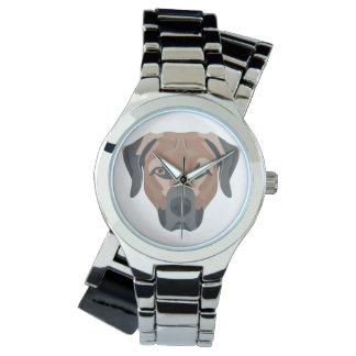 Reloj De Pulsera Perro Brown Labrador del ilustracion