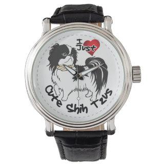 Reloj De Pulsera Perro divertido y lindo adorable feliz de Shih Tzu