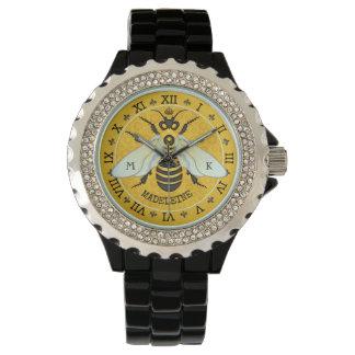 Reloj De Pulsera Personalizado francés del abejorro de la abeja del