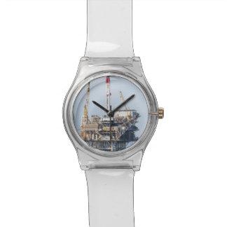 Reloj De Pulsera Plataforma petrolera