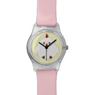 Reloj De Pulsera Pollo lindo