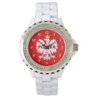 Reloj De Pulsera Polonia Polska Eagle