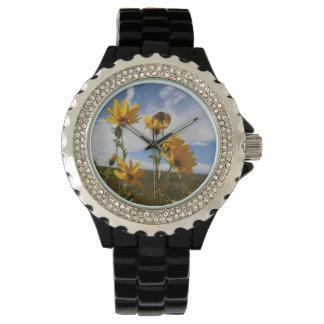Reloj De Pulsera Puesta del sol de la pradera