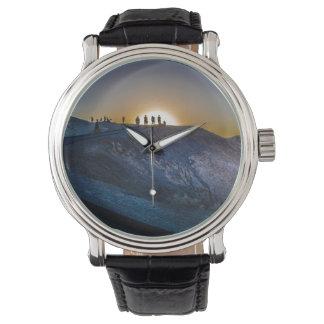 Reloj De Pulsera Puesta del sol del punto del zabriskie de Death
