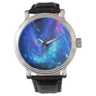 Reloj De Pulsera Qaanaaq - aurora boreal