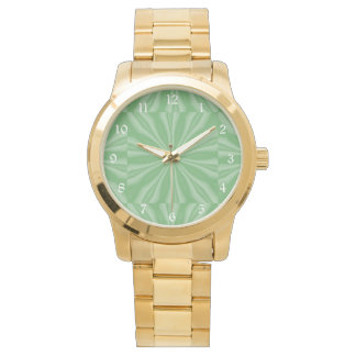 Reloj De Pulsera Rayas verdes