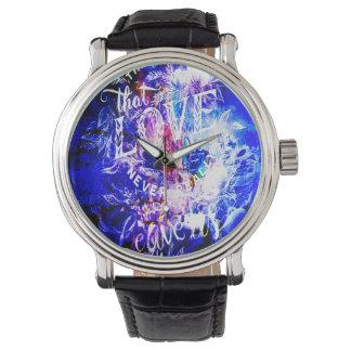 Reloj De Pulsera Respire otra vez los sueños de Yule de los que nos