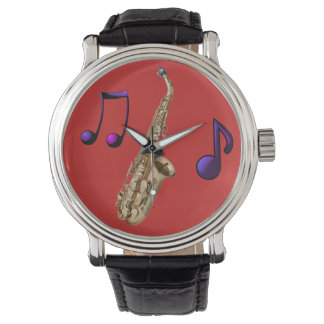 Reloj De Pulsera Saxofón ambiente jazz