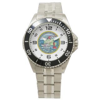 Reloj De Pulsera Sector el río Columbia de USCG