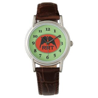 Reloj De Pulsera SEÑAL RESPIRATORIA de los PULMONES de RRT por