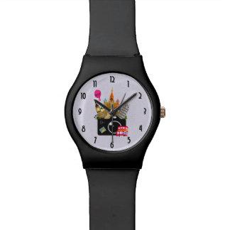 Reloj De Pulsera Señales europeas con una cámara