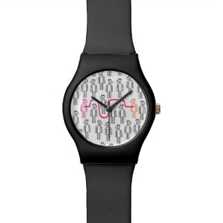 Reloj De Pulsera Siga su unicornio del corazón