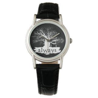 Reloj De Pulsera Silueta de la cita del encanto el | de Harry