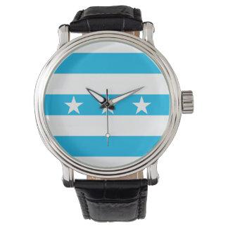 Reloj De Pulsera Símbolo de Ecuador de la bandera de la ciudad de