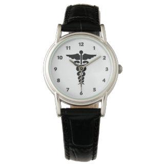 Reloj De Pulsera Símbolo médico de las enfermeras