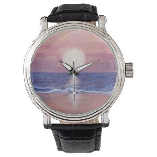 Reloj De Pulsera Sueño de la playa de Flagler