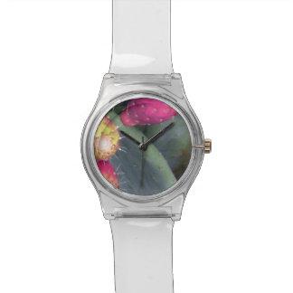 Reloj De Pulsera Tiempo del higo chumbo