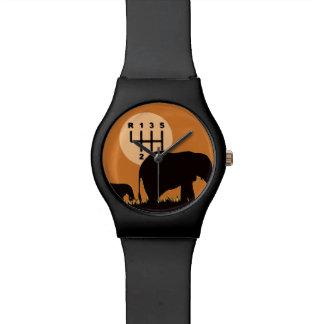 Reloj De Pulsera Transmisión MANUAL - especie en peligro