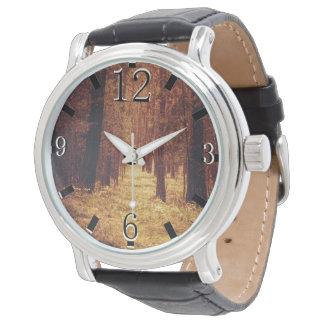 Reloj De Pulsera Trayectoria de bosque…