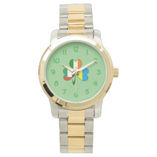 Reloj De Pulsera Trébol de los UAE Ucrania Irlanda