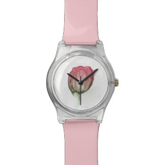 Reloj De Pulsera Tulipán rojo