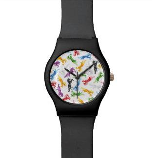 Reloj De Pulsera Unicornio coloreado del modelo