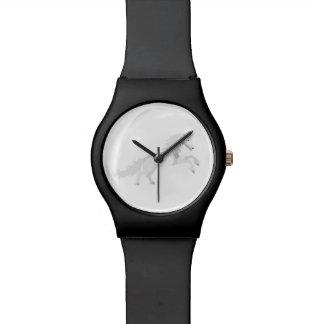 Reloj De Pulsera Unicornio del blanco del ejemplo