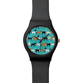Reloj De Pulsera Unicornios de Halloween