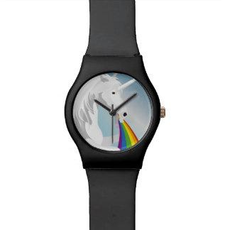 Reloj De Pulsera Unicornios puking del ejemplo