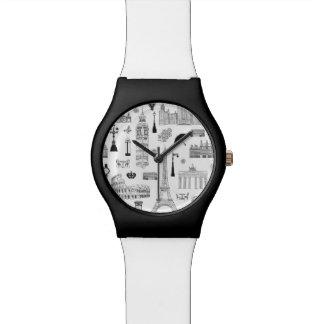 Reloj De Pulsera Vacaciones en el modelo de Europa