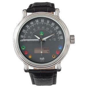 Reloj De Pulsera Velocímetro 01 de los coches del vintage