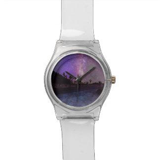 Reloj De Pulsera Vía láctea del parque nacional de la yuca