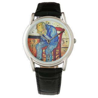 Reloj De Pulsera Viejo hombre Sorrowing de Van Gogh