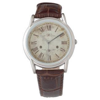 Reloj De Pulsera Vintage antiguo único del número romano rústico