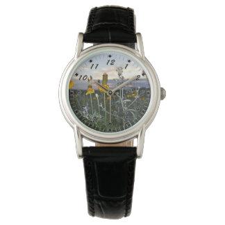 Reloj De Pulsera Wildflowers en la tarde