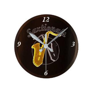 Reloj de Saxtionals