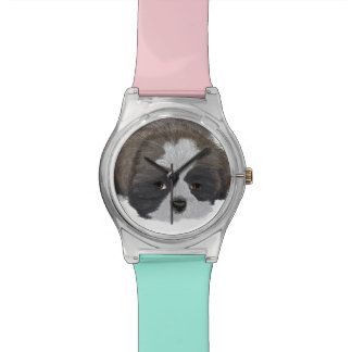 Reloj de Shih Tzu