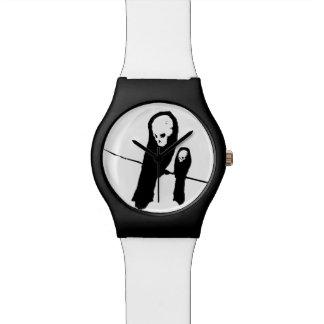 Reloj de Skelecrow - blanco