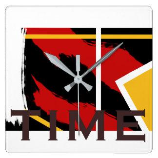 Reloj de tiempo abstracto