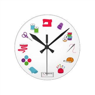 Reloj de tiempo de costura
