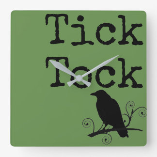 Reloj de Tock de la señal con el primitivo del