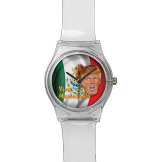 Reloj de Viva México del triunfo de Anti-Donald