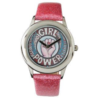 Reloj Declaración del progresista del flower power del