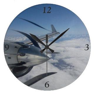 Reloj Redondo Grande Reloj deformado del propulsor