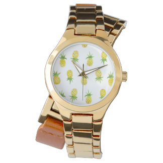 Reloj del abrigo del modelo de la piña de la