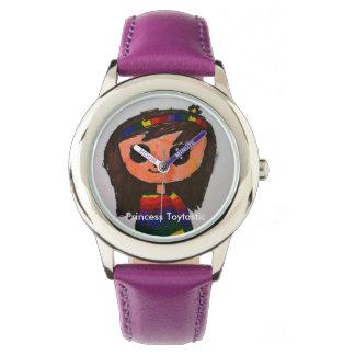 Reloj del acero inoxidable de princesa Toytastic