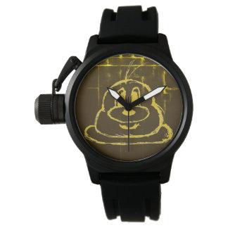 Reloj del acero inoxidable del 鲍鲍 del modelo del